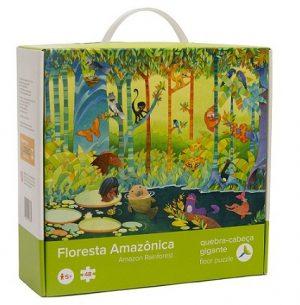 CQ 05 Quebra Cabeça Chão Floresta Amazônica Embalagem