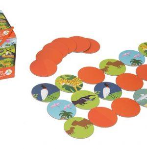 JM 01 Jogo da Memória Bichos do Pantanal
